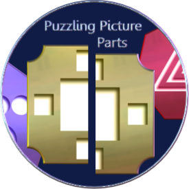 Puzzling Picture Parts Round Promo